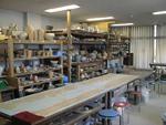 陶芸実習室写真