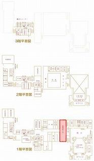 市民ホール位置図
