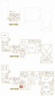 和室会議室位置図