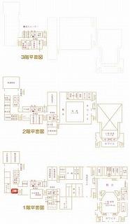 和室研修室(青少年棟)位置図
